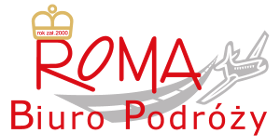 Logo Biura Turystycznego Roma Szczecin
